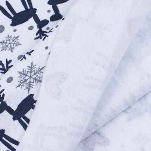 Маломеры рибана лайкра ОЕ с начесом Северные олени 1.42 м фото 4
