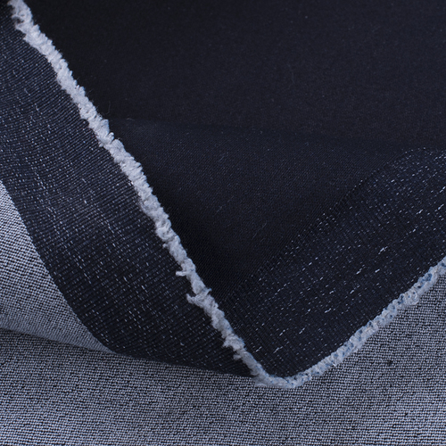 Маломеры джинс 360 гр/м2 стандарт. стрейч 8988-15 цвет темно-синий 0.7 м фото 2