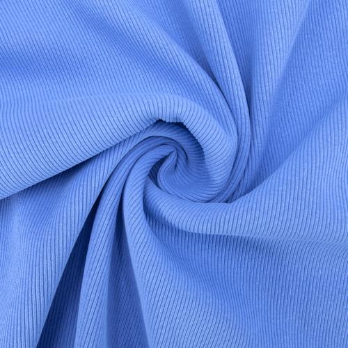 Ткань на отрез кашкорсе 3-х нитка с лайкрой цвет голубой фото 1