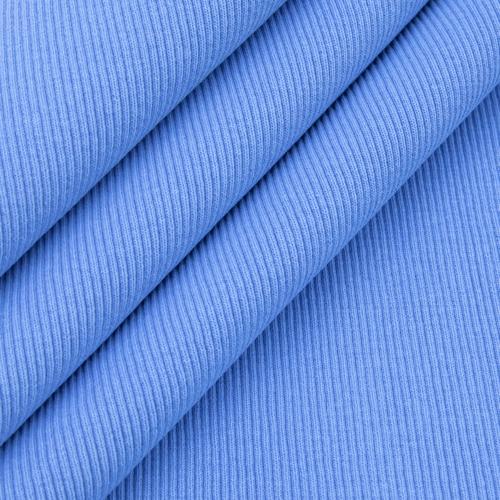 Ткань на отрез кашкорсе 3-х нитка с лайкрой цвет голубой фото 3