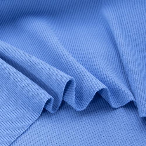 Ткань на отрез кашкорсе 3-х нитка с лайкрой цвет голубой фото 4