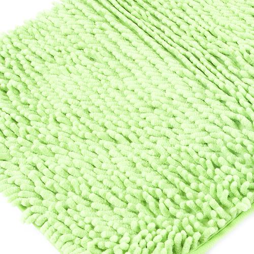 Коврик для ванной Makaron 40/60 цвет салат фото 1