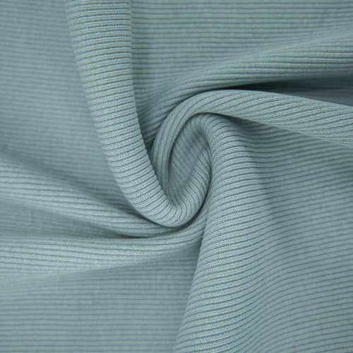 Ткань на отрез кашкорсе 3-х нитка с лайкрой цвет аква фото 2