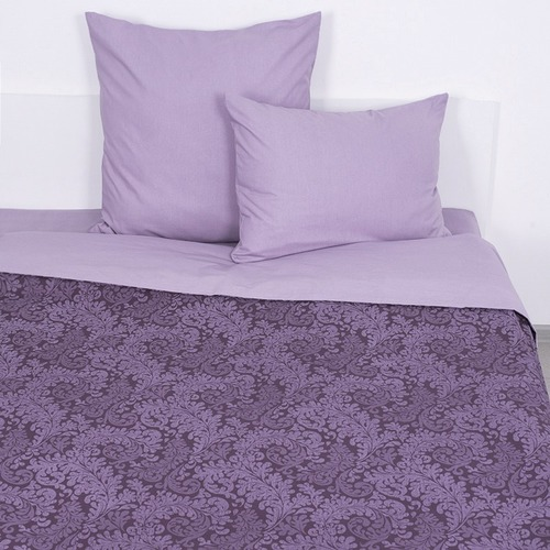Постельное белье из поплина 11572/1 Вирджиния фиолетовая 1.5 сп фото 1