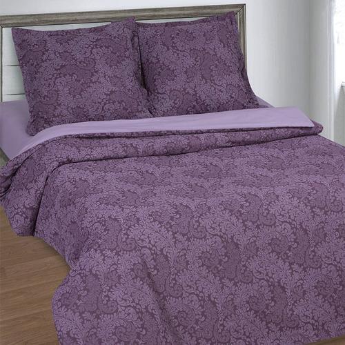 Постельное белье из поплина 11572/1 Вирджиния фиолетовая 1.5 сп фото 6