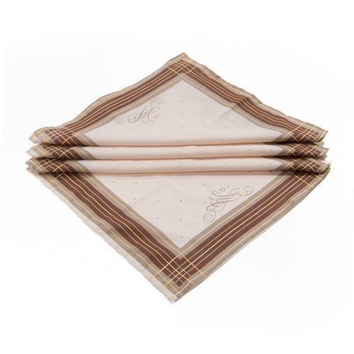 Платок носовой мужской ситец Шуя расцветки в ассортименте 10 шт фото 2