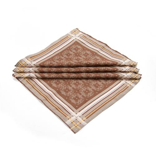 Платок носовой мужской ситец Шуя расцветки в ассортименте 10 шт фото 3
