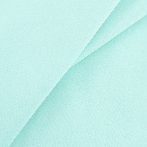 Ткань на отрез бязь гладкокрашеная 120 гр/м2 150 см цвет фисташковый фото 1