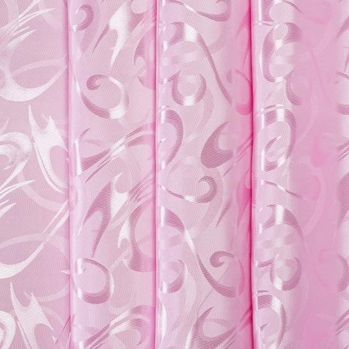 Портьерная ткань 150 см 14 цвет розовый фото 1