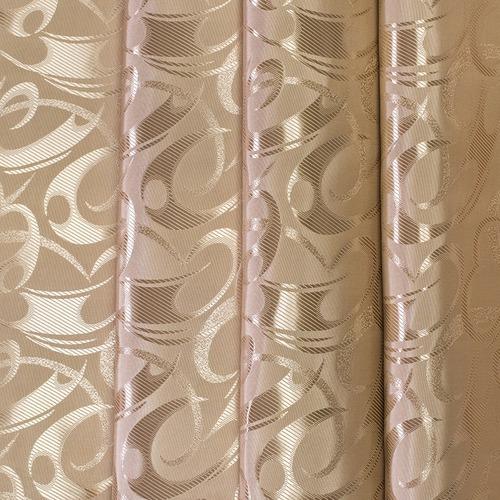 Портьерная ткань 150 см 2 цвет кофейный фото 1