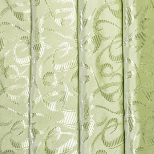 Портьерная ткань 150 см 21 цвет салатовый фото 1