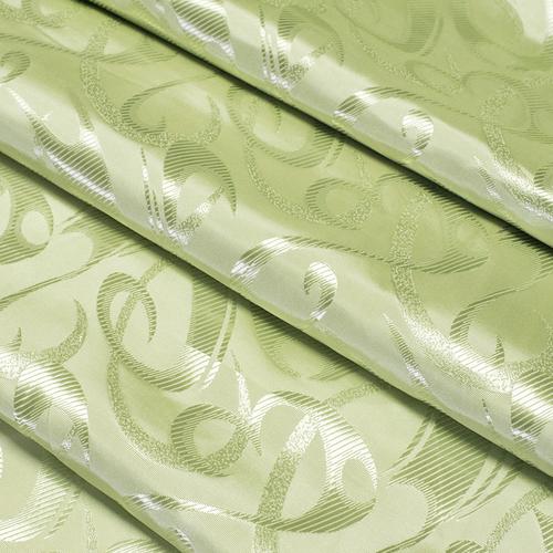 Портьерная ткань 150 см 21 цвет салатовый фото 2