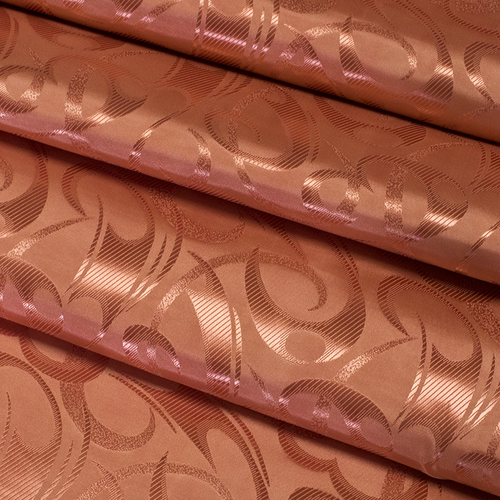 Портьерная ткань 150 см 16 цвет терракотовый фото 2
