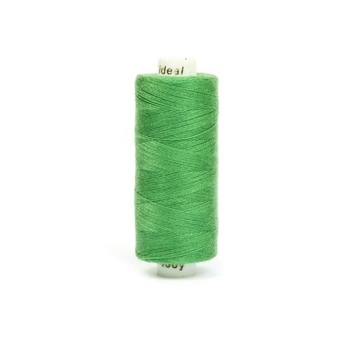Нитки бытовые IDEAL 40/2 366м 100% п/э, цв.434 зеленый фото 1