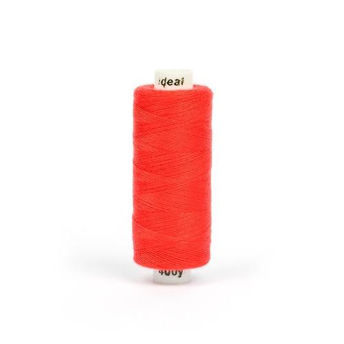 Нитки бытовые IDEAL 40/2 366м 100% п/э, цв.152 красный фото 1