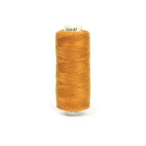 Нитки бытовые IDEAL 40/2 366м 100% п/э, цв.385 коричневый фото 1