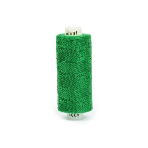 Нитки бытовые IDEAL 40/2 366м 100% п/э, цв.435 зеленый фото 1