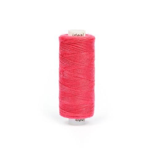 Нитки бытовые IDEAL 40/2 366м 100% п/э, цв.176 розовый фото 1