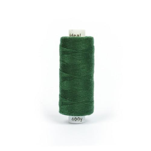 Нитки бытовые IDEAL 40/2 366м 100% п/э, цв.438 зеленый фото 1