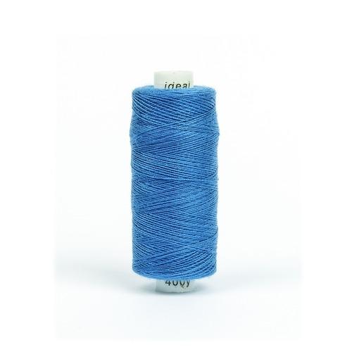 Нитки бытовые IDEAL 40/2 366м 100% п/э, цв.246 синий фото 1