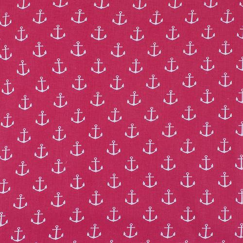 Маломеры бязь плательная 150 см 1788/20 цвет красный 1 м фото 1