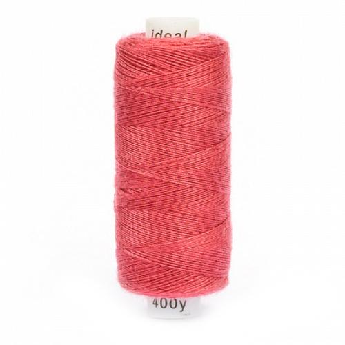 Нитки бытовые Ideal 40/2 100% п/э 181 розовый фото 1