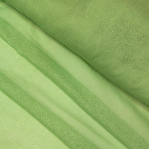 Мерный лоскут ситец гладкокрашеный 80 см 65 гр/м2 цвет зеленый фото 1