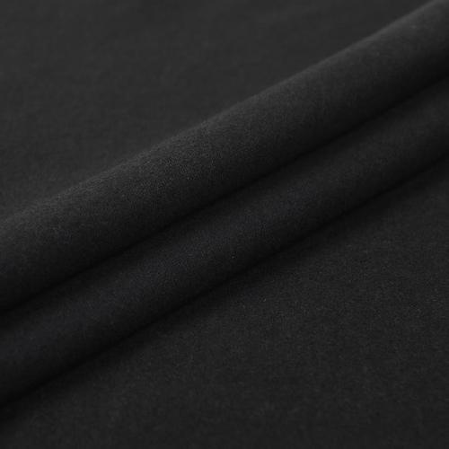 Ткань на отрез фланель 150 см цвет черный фото 1