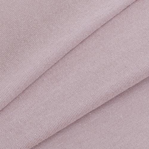 Ткань на отрез кулирка гладкокрашеная карде М-2102.1 св-коричневый фото 1