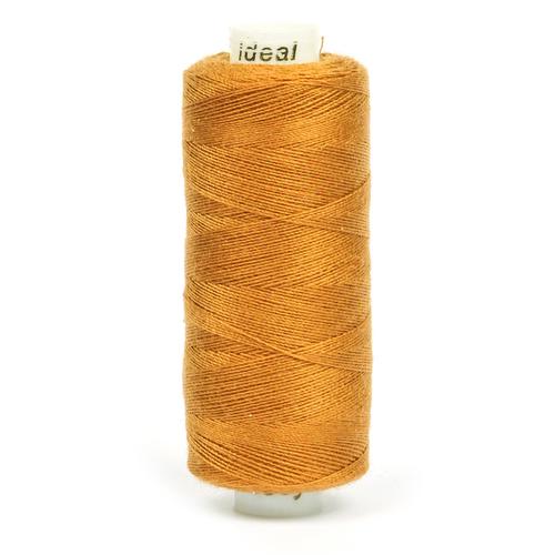 Нитки бытовые Ideal 40/2 100% п/э 385 коричневый фото 1