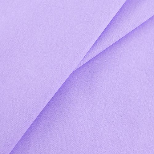 Бязь гладкокрашеная 120 гр/м2 220 см цвет фиалка розовая фото 1