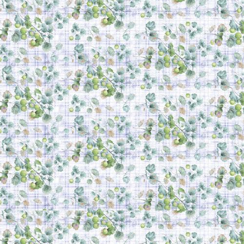 Перкаль 220 см 207422Перк Дивный сад осн. 2 син. фото 1