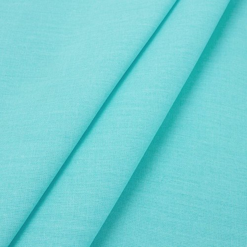 Простынь на резинке поплин цвет тиффани 180/200/20 см фото 3