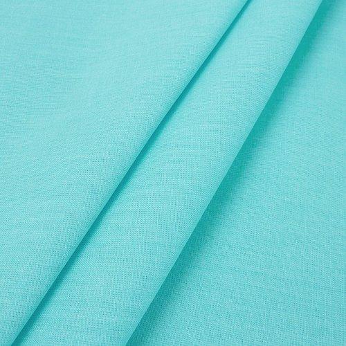Простынь на резинке поплин цвет тиффани 160/200/20 см фото 3