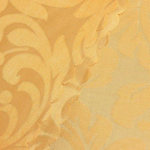 Портьерная ткань 150 см на отрез 2С391 цвет 12 оранжевый фото 2