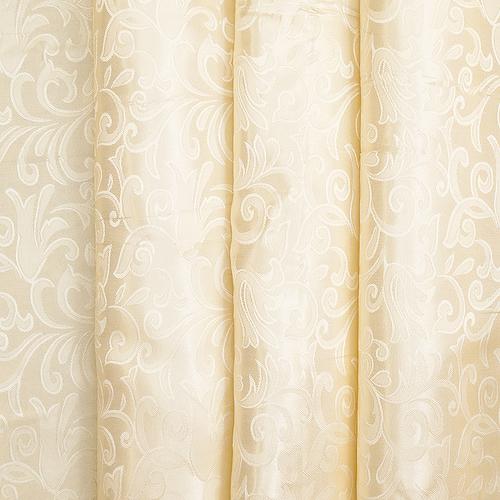 Портьерная ткань 150 см на отрез 100/2С цвет 72 бежевый фото 1