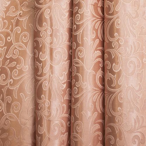 Портьерная ткань 150 см на отрез 100/2С цвет 32 т/бежевый фото 1