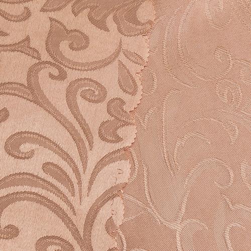 Портьерная ткань 150 см на отрез 100/2С цвет 32 т/бежевый фото 2