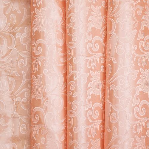Портьерная ткань 150 см на отрез 100/2С цвет 29 персик фото 1