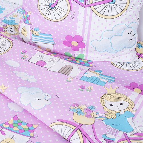 Детское постельное белье из бязи Шуя 1.5 сп 96051 ГОСТ фото 4