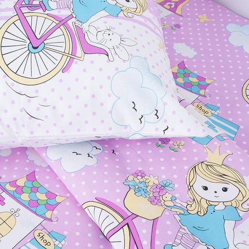 Детское постельное белье из бязи Шуя 1.5 сп 96051 ГОСТ фото 3