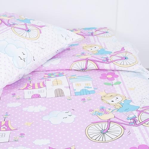 Детское постельное белье из бязи Шуя 1.5 сп 96051 ГОСТ фото 2