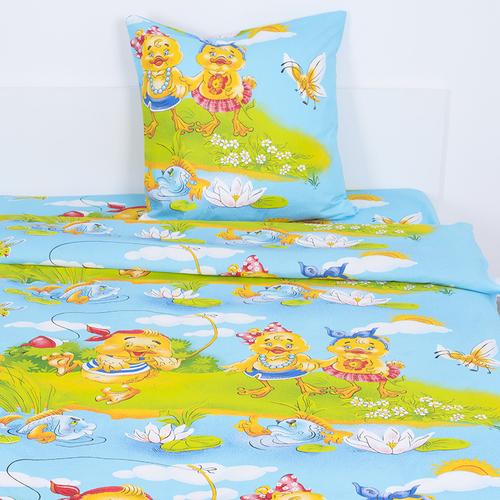 Детское постельное белье из бязи Шуя 1.5 сп 90971 ГОСТ фото 1