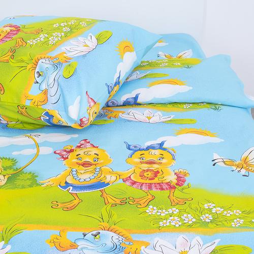 Детское постельное белье из бязи Шуя 1.5 сп 90971 ГОСТ фото 2