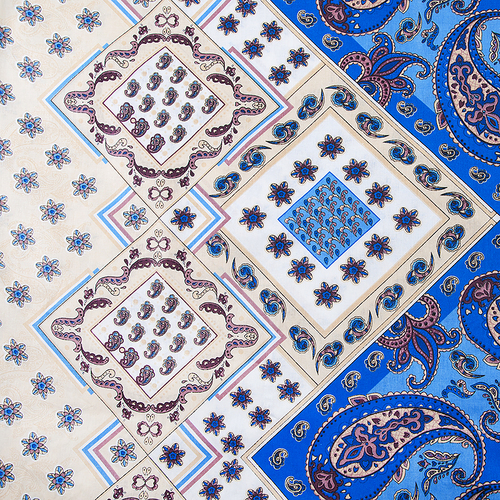 Маломеры бязь о/м 120 гр/м2 150 см 308/1 Восток цвет синий 1 м фото 1