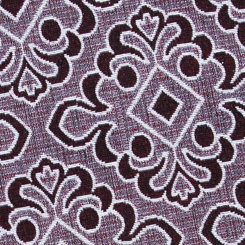 Ткань на отрез гобелен 150 см A80 цвет красный фото 4