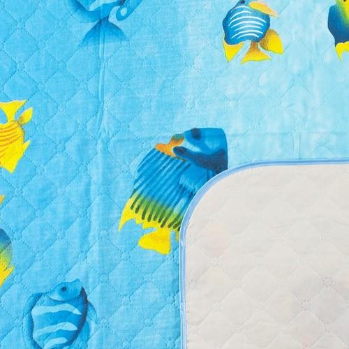 Покрывало детское ультрастеп двухстороннее Кораловый риф вид 2 140/100 см фото 2