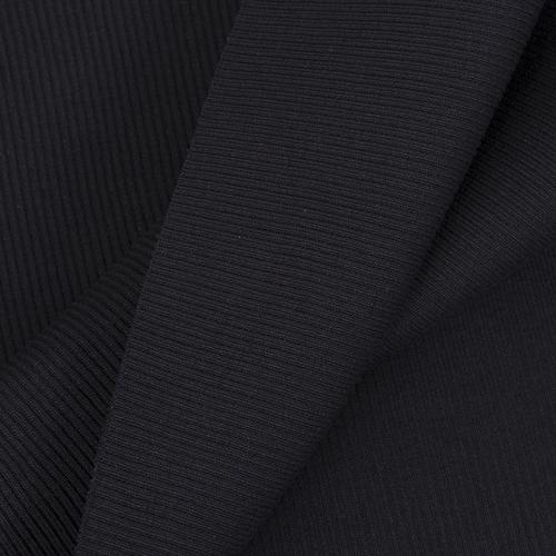 Ткань на отрез кашкорсе 3-х нитка с лайкрой цвет черный фото 4