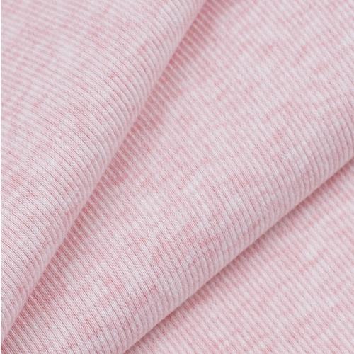 Ткань на отрез кашкорсе с лайкрой Melange цвет розовый фото 1