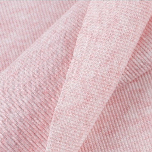 Ткань на отрез кашкорсе с лайкрой Melange цвет розовый фото 4